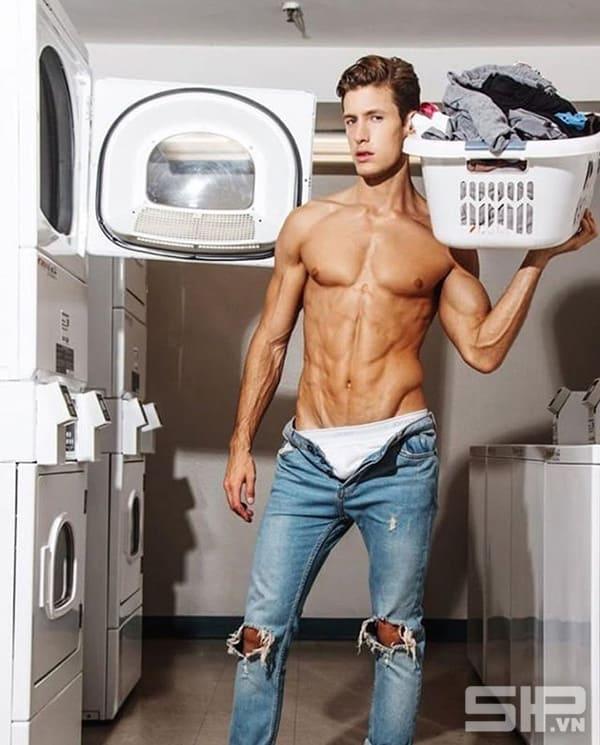 giặt quần lót nam, quần sịp